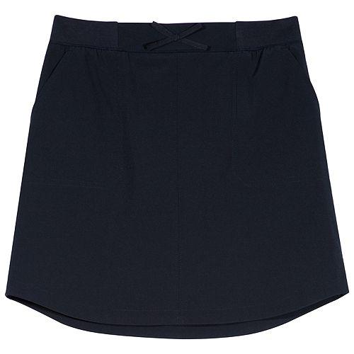 Girls 4-16 Chaps School Uniform Knit Skort