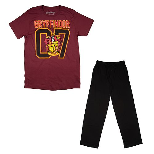 Men's Harry Potter Gryffindor Tee & Sleep Pants Set