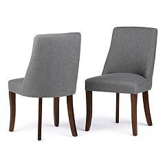 Simpli Home Walden Dining Chair 2-piece Set