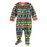 Baby/Infant Jammies For Your Families Holiday Taco Party Fairisle Blanket Sleeper Footed One-Piece Pajamas