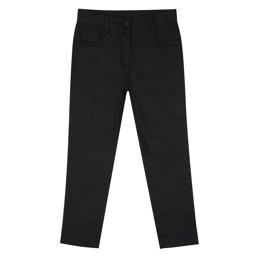 Girls 4-16 Chaps School Uniform Twill Ankle Pants