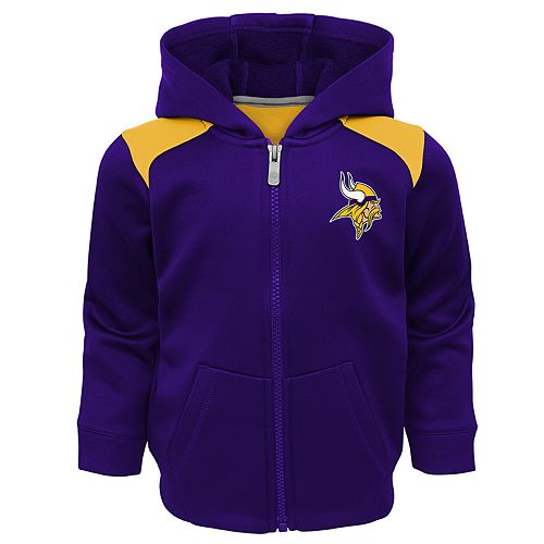 Toddler Minnesota Vikings Play Action Hooded Jacket & Pants Set