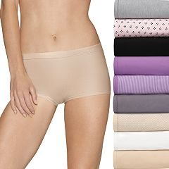 Women's Hanes Ultimate Comfort Stretch 9-Pack Boyshort Panties 49KSP9