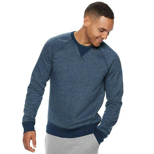 Men's SONOMA Goods for Life™ Supersoft Fleece Crewneck Pullover
