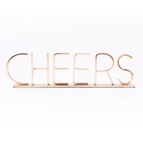 "LC Lauren Conrad ""Cheers"" Table Decor"