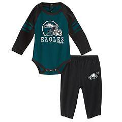 Baby Philadelphia Eagles Future Starter Bodysuit & Pants Set