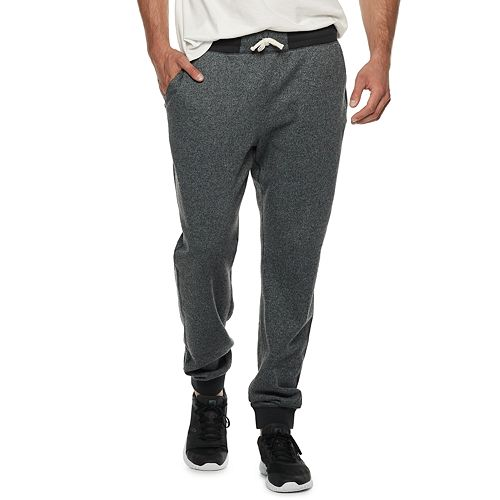 Big & Tall SONOMA Goods for Life™ Supersoft Fleece Jogger Pants