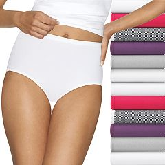 Women's Hanes Cotton Comfort Ultra Soft 12-Pack Brief Panties  40KP12