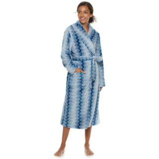 Women's SONOMA Goods for Life? Long Plush Wrap Robe