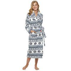 Women's SONOMA Goods for Life™ Long Plush Wrap Robe