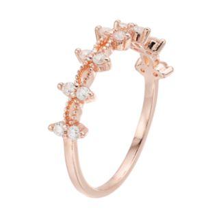 LC Lauren Conrad Cubic Zirconia Marquise Ring
