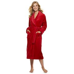 Petite SONOMA Goods for Life™ Long Plush Wrap Robe