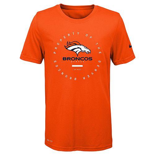 Boys 8-20 Nike Denver Broncos Property Of Tee