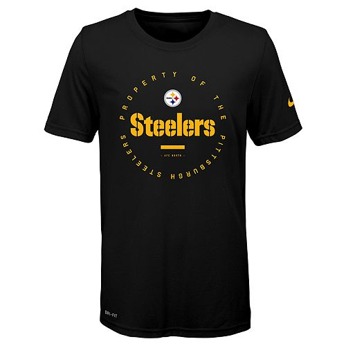 Boys 8-20 Nike Pittsburgh Steelers Property Of Tee