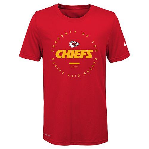Boys 8-20 Nike Kansas City Chiefs Property Of Tee