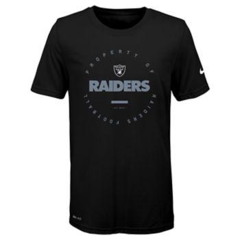 Boys 8-20 Nike Oakland Raiders Property Of Tee