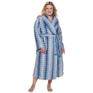 Plus Size SONOMA Goods for Life? Long Plush Wrap Robe