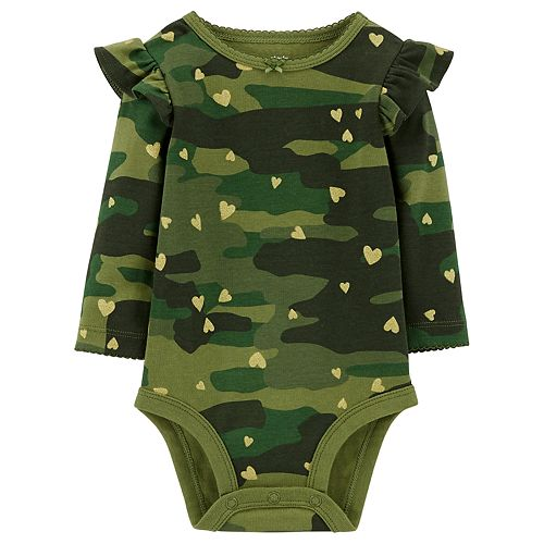 Baby Girl Carter's Ruffled Graphic Bodysuit
