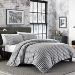 Eddie Bauer Preston Flannel Duvet Cover Set