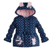 Toddler Girl Peppa Pig Polka-Dot Heavyweight Puffer Jacket