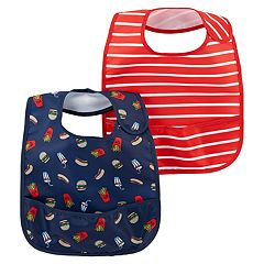 Baby Carter's 2-Pack Bib Set