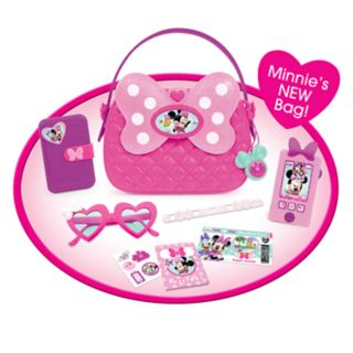 Disney's Minnie Happy Helper's Minnie Bag & Shoes Set