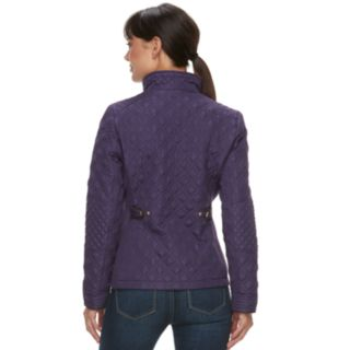 Women's Weathercast Quilted Moto Jacket