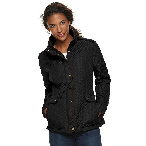 Women's Weathercast Quilted Stretch Barn Jacket
