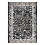 Rizzy Home Panache Traditional Distressed Ornate II Geometric Rug