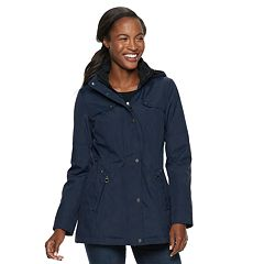 Women's Weathercast Hooded Bonded Anorak Jacket
