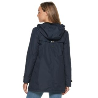 Women's Weathercast Hooded Bonded Rain Jacket