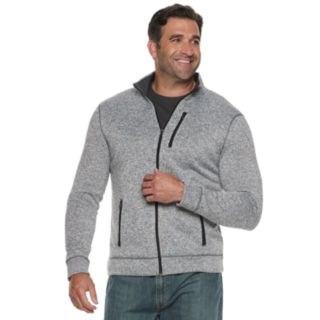 Big & Tall SONOMA Goods for Life? Modern-Fit Supersoft Sweater Fleece Full-Zip Jacket