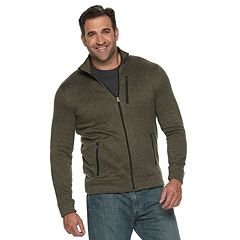 Big & Tall SONOMA Goods for Life™ Modern-Fit Supersoft Sweater Fleece Full-Zip Jacket
