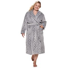 Plus Size SONOMA Goods for Life™ Plush Long Robe