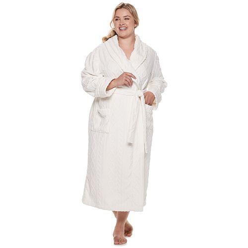 Plus Size SONOMA Goods for Life™ Plush Long Robe