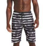 Men's Nike Block Stripe Breaker 11-inch Volley Shorts