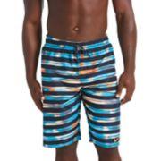 Men's Nike Block Stripe Breaker 11-inch Volley Shorts