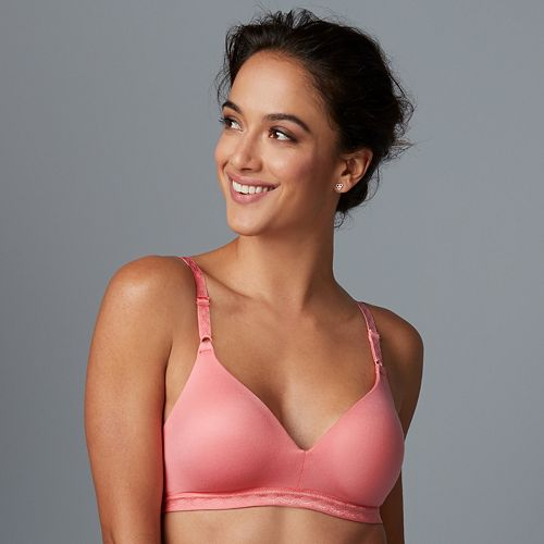 593ee0b6a9da8 Warner s Bra  Cloud 9 Full-Coverage Wire-Free Contour Bra 01269 - Women s