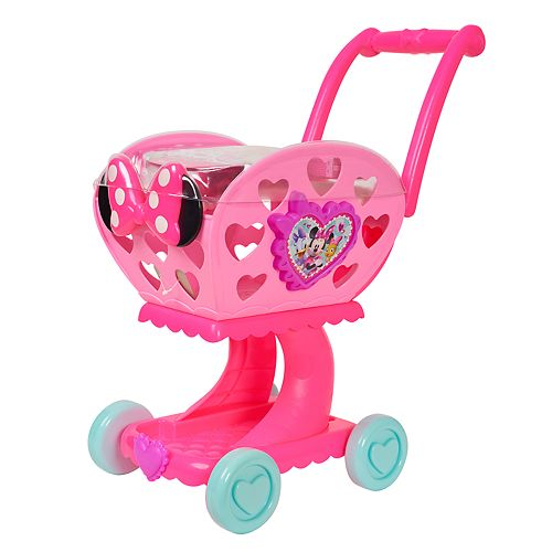 Disney's Minnie Mouse Happy Helpers 2-in-1 Shopping Cart