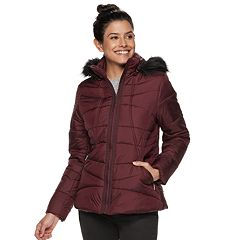 Women's Weathercast Hooded Puffer Jacket