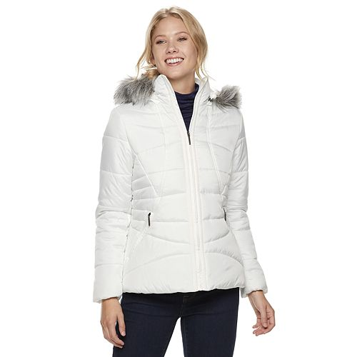 Women's Weathercast Hooded Puffer Jacket