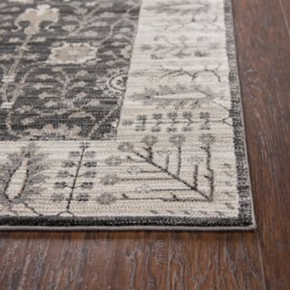 Rizzy Home Panache Traditional Distressed Ornate III Geometric Rug