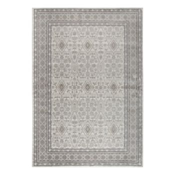 Rizzy Home Panache Traditional Distressed Ornate IV Geometric Rug