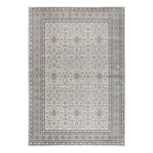 Rizzy Home Panache Traditional Distressed Ornate IV Geometric Rug