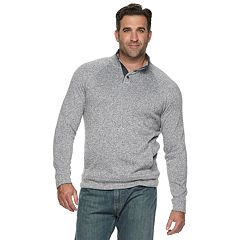 Big & Tall SONOMA Goods for Life™ Supersoft Sweater Fleece Mockneck Pullover