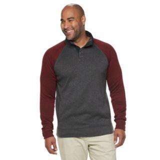 Big & Tall SONOMA Goods for Life? Supersoft Sweater Fleece Mockneck Pullover