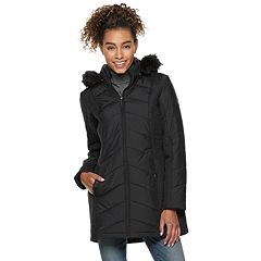 Women's Weathercast Hooded Quilted Puffer Jacket