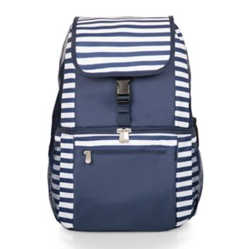 Picnic Time Striped Zuma Backpack Cooler