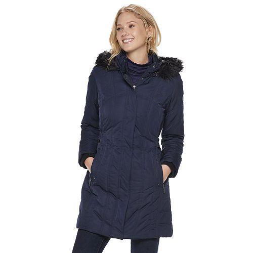 789669e5c0 Women s Weathercast Hooded Heavyweight Jacket