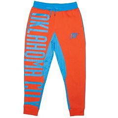 Men's Unk Oklahoma City Thunder Speckled Fleece Jogger Pants